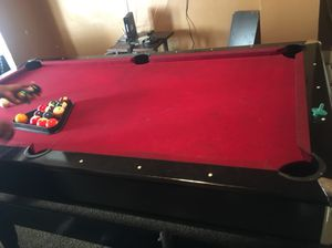 Poll table / Air hockey!! 370!! for Sale in Philadelphia, PA