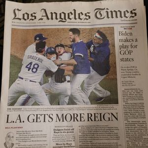 Dodgers World Series 2020 for Sale in San Bernardino, CA