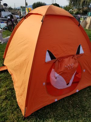 Tent fox camping for kids for Sale in Highland, CA
