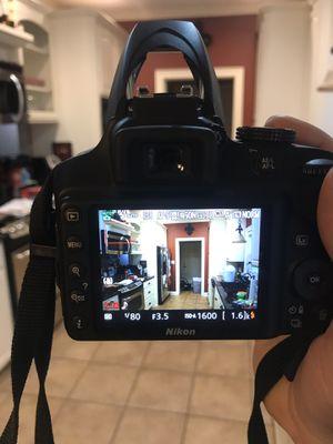 NIKON D3400 for Sale in Monroe, LA