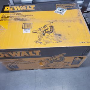 "Dewalt 12"" miter saw dws780 for Sale in Washington, DC"