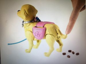 New in box Barbie and dog that walks and goes Poo poo rare $40 cash firm for Sale in El Cajon, CA
