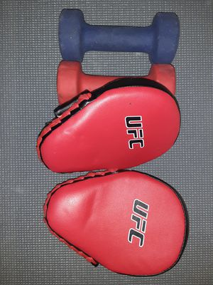 UFC punching mitts/ Weights for Sale in Honolulu, HI