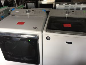 Maytag Top Load Washer and Electric Dryer for Sale in San Luis Obispo, CA