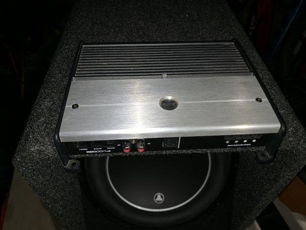 JL Audio amp XD600 1v2