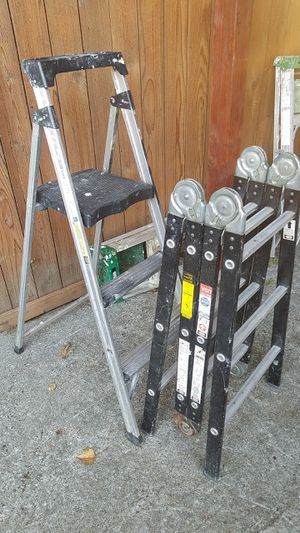 little ladder the versa ladder is sold just fold out ladder for Sale in Everett, WA