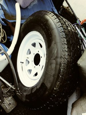 Tire brand new never used, for a RV trailer for Sale in Klamath Falls, OR