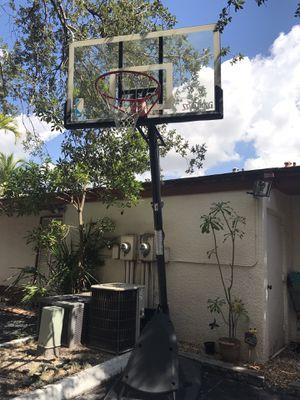 Spaulding NBA Adjustable Basket Ball hoop for Sale in Hialeah, FL