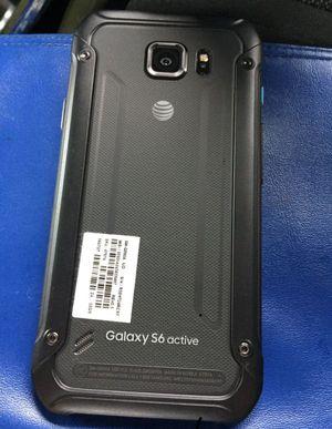 Samsung Galaxy s6 active gray unlock waterproof excellent condition for Sale in North Miami Beach, FL