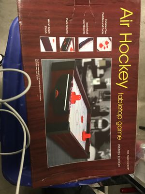 Air hockey table top game for Sale in Everett, WA