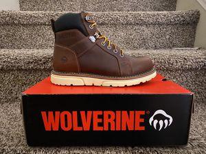 Wolverine Work Boot Steel Composite Toe/Botas de trabajo Wolverine con casquillo for Sale in Highland, CA