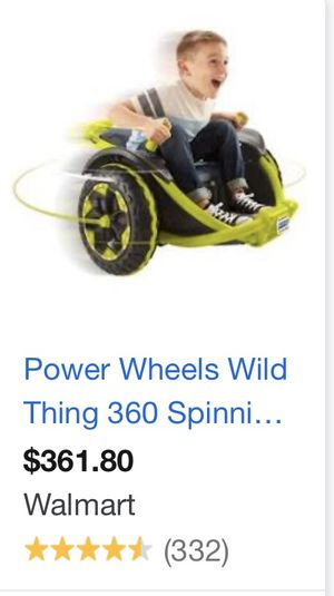 Power wheels wild thing for Sale in Homer Glen, IL