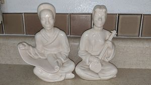 White Antique Asian Figurines for Sale in Montrose, CO