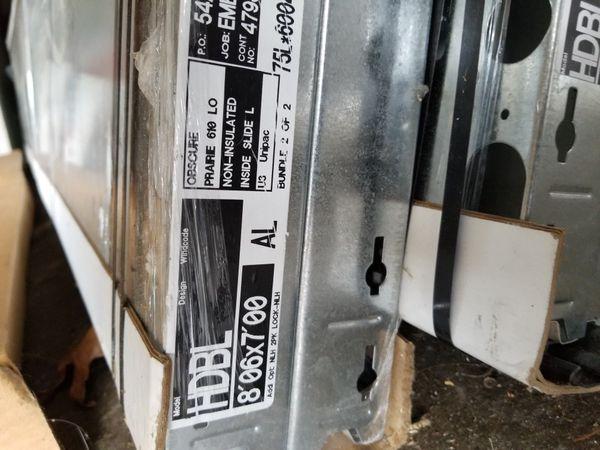 Garage door from Home Depot