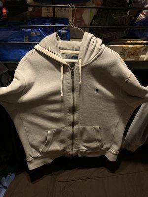 Men Polo Ralph Lauren FULL ZIP Hoodie FLEECE Lining Sweatshirt Jacket Size XL for Sale in Brooklyn, NY