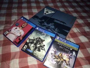 Sony ps4 500 GB UNCHARTED COLLECTABLE edition for Sale in Silver Spring, MD
