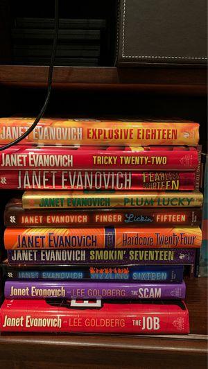 Janet Evanovich books-$3 each for Sale in Redlands, CA