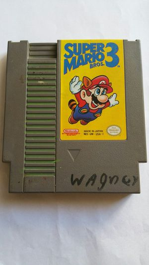 NINTENDO SUPER MARIO BROS 3 GOOD CONDITION WORKING 100% for Sale in San Diego, CA
