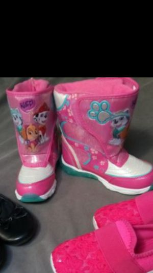 New! Little Girls Size 11 Paw Patrol Boots for Sale in Federal Way, WA