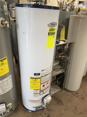 40 Gallon water heater tank delivery install extra for Sale in Cleveland, OH
