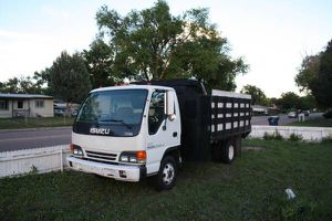 2004 Isuzu NPR Gated Dump Bed Truck for Sale in Colorado Springs, CO