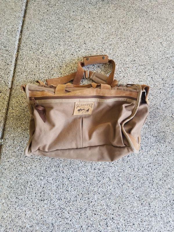 Schaefer outfitter duffle bag like new
