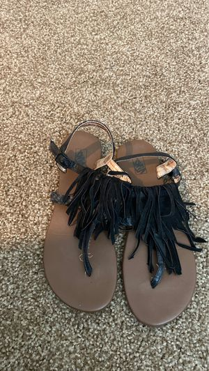 Vans fringe sandals for Sale in Scottsdale, AZ