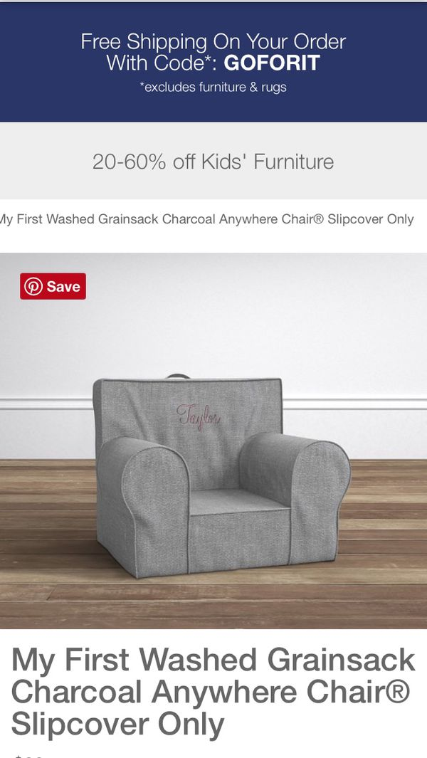 53165a0870f PBK My First anywhere chair slipcover ONLY for Sale in Stuart