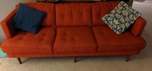 Red three seater accent couch for Sale in Mountain View, CA