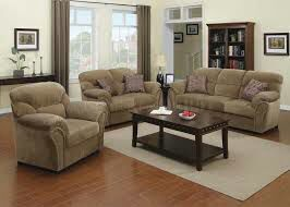 Patricia light brown velvet $929 sofa, loveseat, chair or $1229 with 3pc pk coffee/end table set for Sale in Dearborn, MI