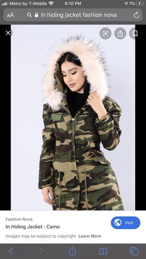 Fashion Nova Jacket for Sale in Tukwila, WA