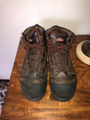 Steal Toe Work Boots Size 10 1/2 for Sale in Tacoma, WA