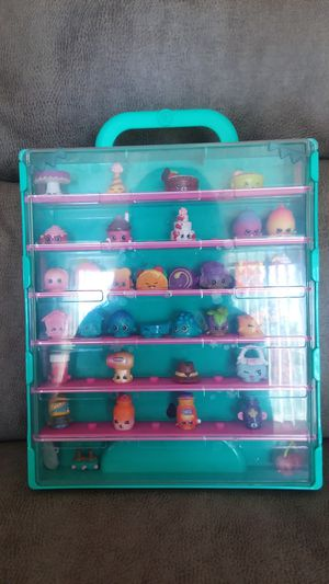 Shopkins and case for Sale in Providence, RI