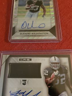 Khalil Mack Rc Auto/jersey, DeAndre Washington Rc Auto for Sale in Fresno,  CA
