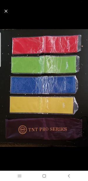 Resistance Bands set of 4 for Sale in Long Beach, CA