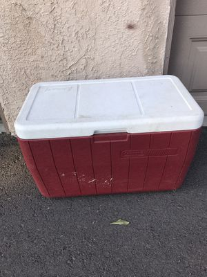 Coleman 48 Quart Red Personal Cooler for Sale in San Clemente, CA