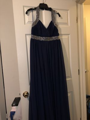 Long Navy Blue Formal Dress. for Sale in Baltimore, MD