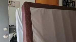 Queen Bed, Boxspring and frame for Sale in Vancouver, WA