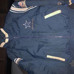 NFL Dallas Cowboys Vintage Pro Layer Jacket for Sale in Houston, TX