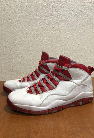 Jordan X 10 Size 13 Red Steel for Sale in San Francisco, CA