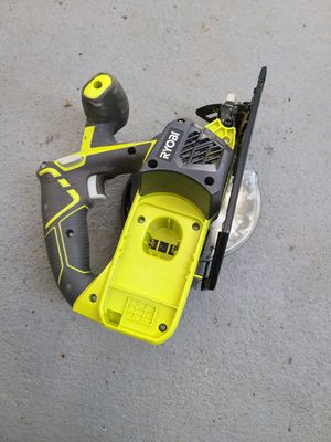 Ryobi battery operated saw for Sale in Douglasville, GA