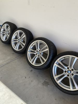 BMW rims and tires 22 inch for Sale in Irvine, CA