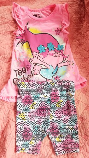 Trolls Poppy outfit 3T for Sale in Wilmington, CA