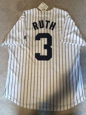 Used, Babe Ruth Yankees jersey SIZE LARGE for Sale for sale  Queens, NY