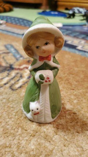Bell Merritt bell's figurine bisque porcelain 1978 vintage Christmas decoration for Sale in Coral Springs, FL