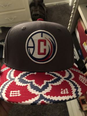 New clippers basketball hat $10 for Sale in San Bernardino, CA