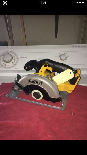 Dewalt new saw tool only firm price no offers for Sale in San Diego, CA