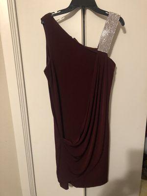 Like NEW Burgundy short dress for Sale in Bedford, TX