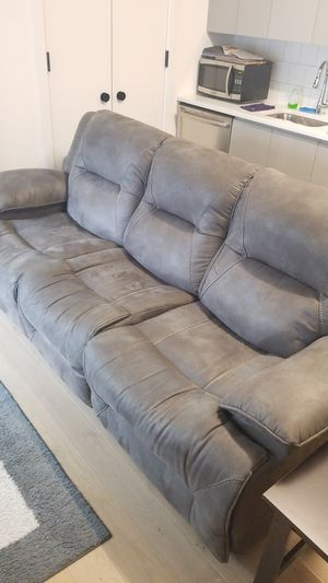 Power reclining sofa for Sale in New York, NY