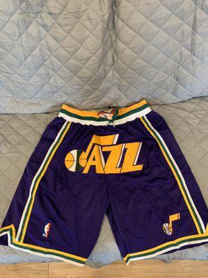 Just Don Utah Jazz shorts for Sale in San Fernando, CA